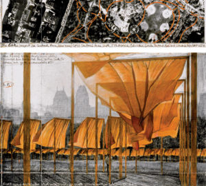 Christo and Jean Claude - The Gates. Project for Central Park